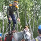Конно-спортивные соревнования среди казачьих обществ Республики Бурятия