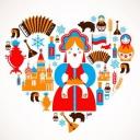 Дарю идею и даже иллюстрации к ней I love Buryatya. Графический редактор  тут - http://icde.ru/servisy/graficheskij-redaktor. Часа 2 работы.