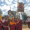 Буддийскую молитву читает Дид-Хамбо лама Буддийской Традиционной Сангхи по Бурятии Дагба Очиров