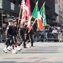 Военный парад в Нью-Йорке.