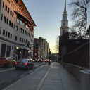 Бостонская улочка